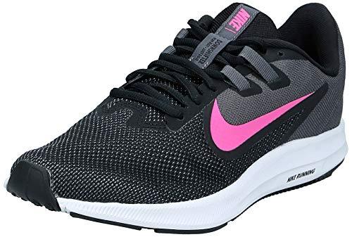 Nike Downshifter 9, Scarpe da Corsa Donna, Multicolore (Black/Laser Fuchsia/Dark Grey/White 000), 38 EU