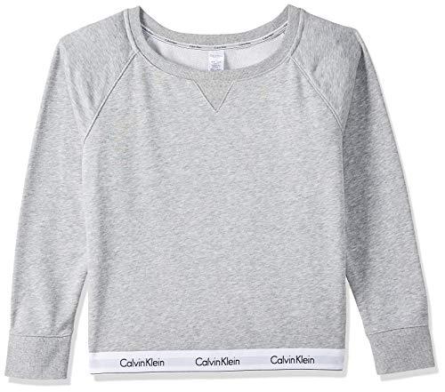 Calvin Klein damska bluzka z długim rękawem regularny krój top