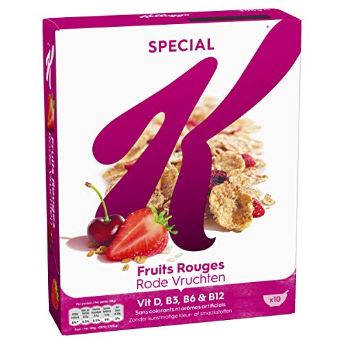 Céréales Special K Kellogg s Fruits Rouges - 300g
