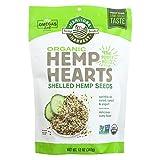 2 Pack of Manitoba Harvest Certified Organic Hemp Hearts Shelled Hemp Seed - 12 oz - 95%+ Organic -