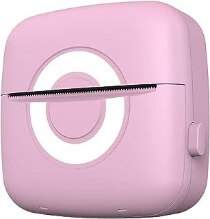 MERIGLARE Mini impressora fotográfica móvel sem fio Impressora fotográfica instantânea Bluetooth compatível para iOS e par...