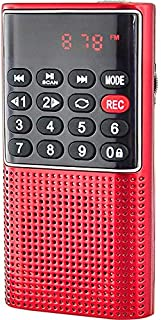 Semoic L-328 Portable Pocket FM Auto Scan Radio Music Audio MP3 Player Outdoor Small Speaker with Voice Recorder