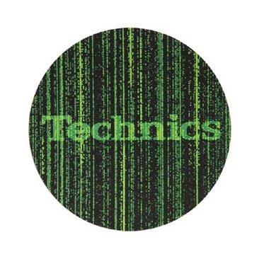2 x Technics Slipmats de matriz de diseño con Logo