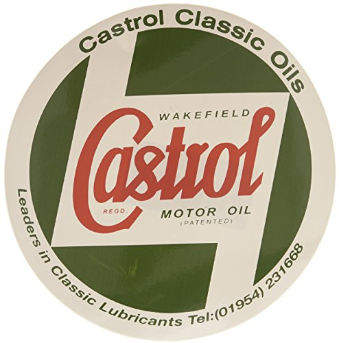 Castrol Classic STR598 Karosserie Aufkleber, 12,7cm