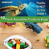 Zoom IMG-2 songwin sacchetti riutilizzabili sacchi in