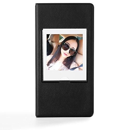 CAIUL 64 Pockets Fuji Instax Square Book Album for Fujifilm Instax Square SQ10 Instant Film (Black)