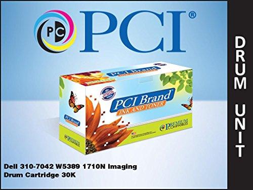 PCI Brand Compatible Drum Unit Replacement for Dell 1710N Black Drum Cartridge 310-7042 W5389 D4283 30K Yield -  PREMIUM COMPATIBLES, 310-7042-PCI
