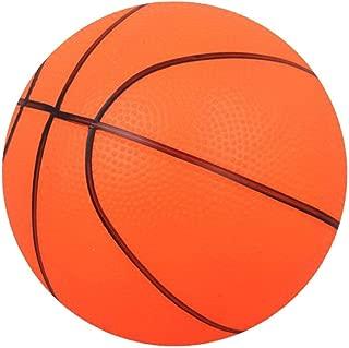 Mini Basketball Soft Basketball Bouncy Basketball Indoor/Outdoor Sports Ball Kids Toy Gift - Orange