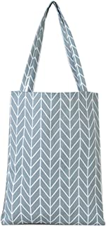 Bageek Women Tote Bag Geometric Fashion All-Match Handbag Holiday Shoulder Bag (Grey)