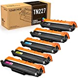STAROVER Compatible Toner Cartridge Replacement for Brother TN227 TN 227 TN223 for HL-L3210CW HL-L3230CDW HL-L3270CDW HL-L3290CDW MFC-L3710CW MFC-L3750CDW MFC-L3770CDW (5 Pack)