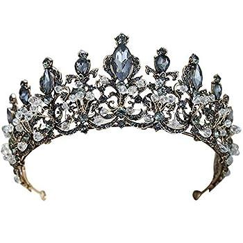 Best black tiara crown Reviews