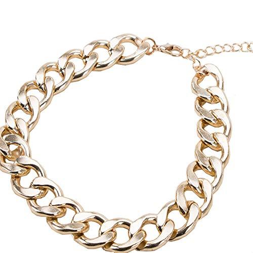 Collares Básicos Collar De Cadena De Metal Dorado Para Perro, Pequeño Y Mediano, Collar Para Mascota, Collar De Verano, Accesorios De Moda, Collar Para Mascota, 36-42Cm
