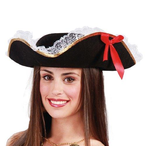 Guirca Fiestas GUI13957 Chapeau de Pirate pour Femme