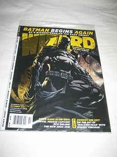 Wizard V 1 # 229 Sep 2010 Batman Begins Again Finch Kirkman Scalped Buffy Aaron