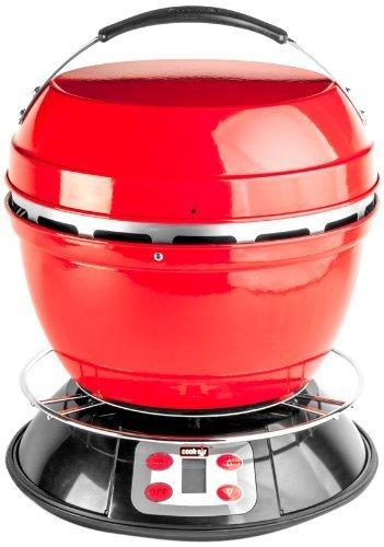 Cook-air Ep-3620rd à bois Portable Grill, Rouge par Cook Air