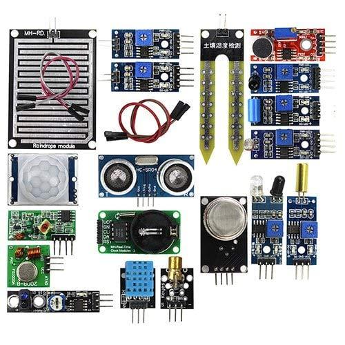 HaiMa 2 Génération B Ultrasons 16 Kits De Capteurs Pour Raspberry Pi - Blueberry Blue