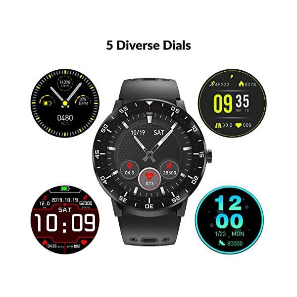 Reloj Inteligente, HopoFit Smartwatch, Pulsómetros, Monitor de Sueño, Podómetro, Notificación Llamada y Mensaje… 2