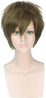 Anime Short Straight Cosplay Wigs Men's Party Wig (Tachibana Makoto)