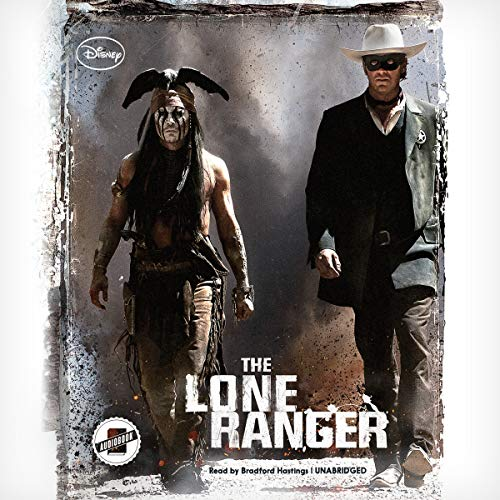 The Lone Ranger audiobook cover art