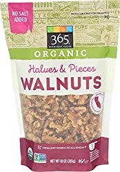 365 Everyday Value, Organic Walnuts, Halves & Pieces, 10 oz