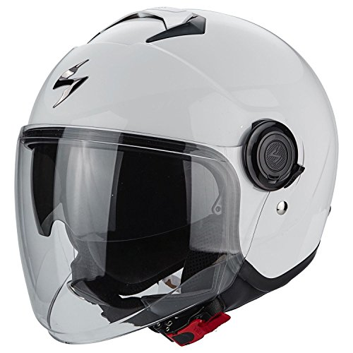 Scorpion Herren 83-100-05-05 Motorradhelm - Exo City, Transparent, L