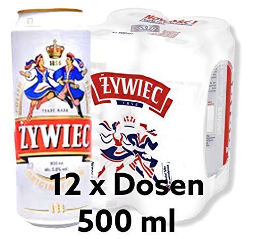 12 x 500 ml Dose Zywiec Pils, der einzigartige Geschmack aus Polen