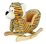 Wheels N Kids Plush Animal Ride ON Rocking Toy | Tiger