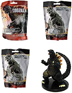 Official Godzilla Surprise Mini Figure Blind Pack Lot of 3 Packs Contains 3 Random Mystery Figures