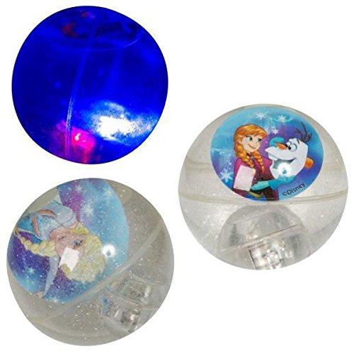 Balle rebondissante Frozen avec lumière
