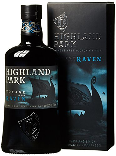 Highland Park VOYAGE of the RAVEN Single Malt Scotch Whisky + GB 41,3% Vol. 0,7 l