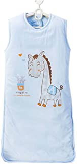 Baby Bunting Bag 4 Seasons Baby Sleep Bag,Blue Horse M