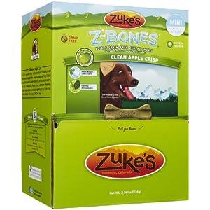 Zuke'S Z-Bones Mini Clean Apple Crisp Dental Dog Treats – 72Ct