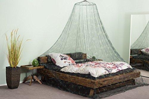 RSP Travel Moustiquaire de voyage Taille XXL – convient aussi pour lit double – l'original – manuel d'utilisation (langue française non garantie), camouflage