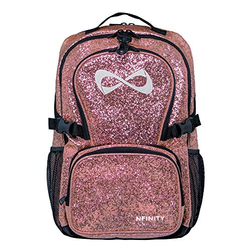 Millennial Pink Classic Backpack White Logo