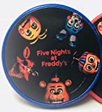 FNAF Five Night's at Freddy's Cupcake Toppers Rings Party Favors