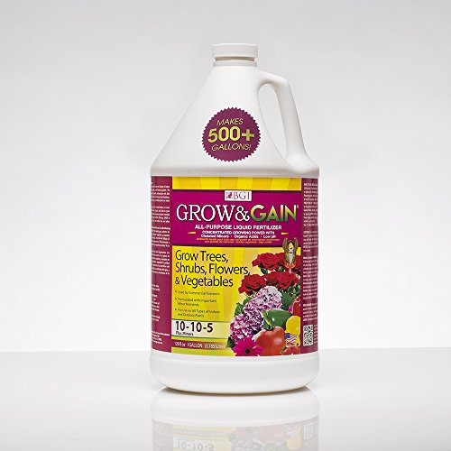 Grow & Gain All Purpose Liquid Plant Food, Concentrated, Indoor/Outdoor
