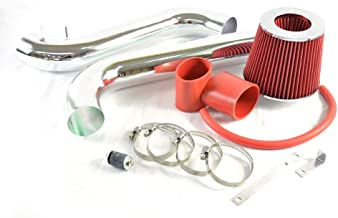 Intake Pipe Perfit formance Cold Air Intake Induction Kit With Filter fit for 1990 1991 1992 1993 Honda Accord DX/LX/EX/SE 2.2L 4-Cylinder Engine Models Only(red)