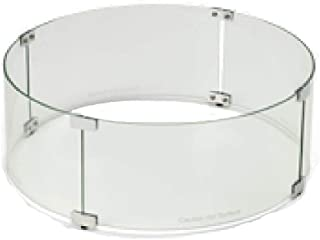 Hearth Products Controls (HPC Round Fire Pit Glass Wind Guard (WG23-RD), 23-Inch