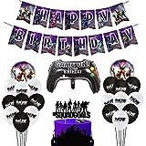 BESLIME Artículos de Fiestas para Fanáticos de los Videojuegos Decoraciones para...