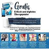 """Profi Faszien Rolle """"Happy Roll"""" von Sportastisch :: hochwertige Massagerolle in geprüfter Qualität - 6"""