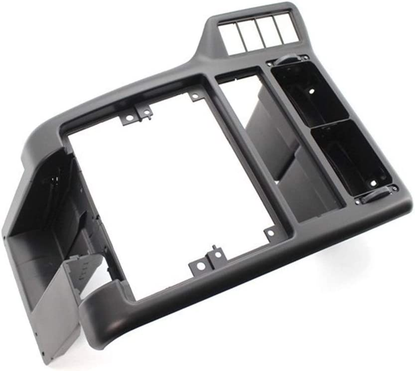 Furong Interno Center Console Dash AC Air Vent Grille Fit for-VW Caddy-Polo 6N 1994-2002 6N1858071A Color Name : Black