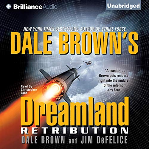 Dale Brown's Dreamland audiobook cover art