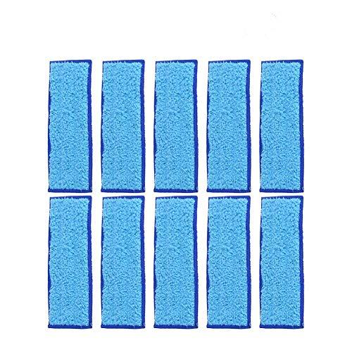 Paño de Limpieza, Paño de Microfibras Paños y Toallitas para Mopas Trapo de Fregona Lavable 185 x 70 mm Bayeta de Limpieza para iRobot Braava Jet 240/241(Blue)