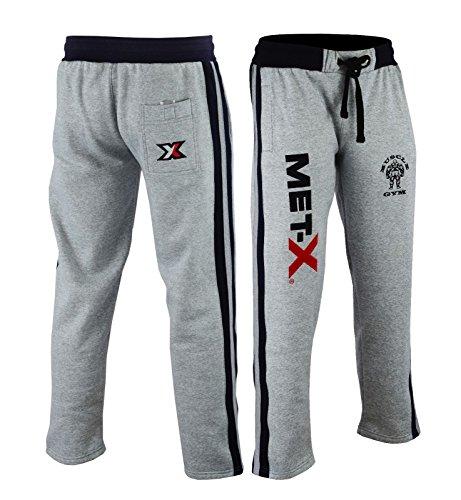 Pantalones de chándal para hombre, con forro polar, para correr, hacer ejercicio, boxeo, MMA, gimnasio, etc.; transpirables, color gris y carbón