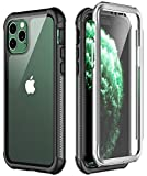Temdan iPhone 11 Pro Max Case, Full Body with Built-in