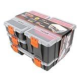 Tactix 320020 Hardware & Parts Organizers, 4Piece Set