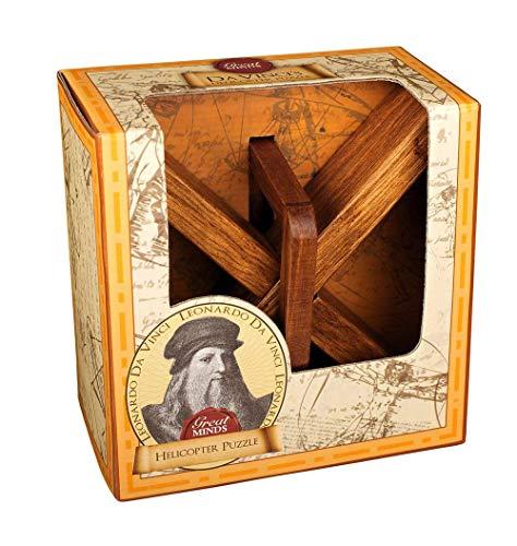 Professor Puzzle GM1094 Great Minds Da Vinci's Copter Brain Teaser Puzzle