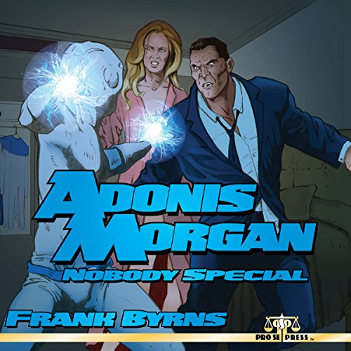 Adonis Morgan audiobook cover art