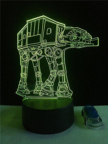 Sneakers 3D nachtlampje kinderen nachtlampje, 7 kleuren veranderende optische illusie kinderlamp – perfect cadeau voor jongens, meisjes met Kerstmis verjaardag of vakantie