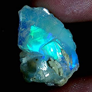 13.00Cts 100% A+ Natural Ethiopian Welo Opal Rough Stone, Raw Crystal, October Birthstone, Jewelry Making Gemstone, Ultra Fire Striking Opal, Opal Rock, Handpicked Stone, Size-12X24X10MM